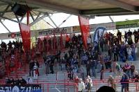 Fans von FSV Frankfurt beim 1. FC Union Berlin