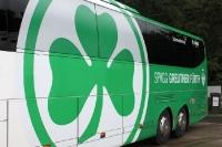Mannschaftsbus der Spvgg Greuther Fürth