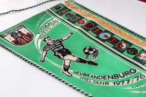 Fußballwimpel Bezirksliga Neubrandenburg