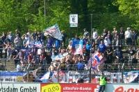 Fans von Holstein Kiel in Babelsberg