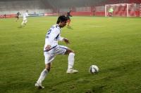Afran Ismayilov, Nationalspieler von Aserbaidschan, beim Testspiel in Berlin