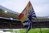Fans der TSG Hoffenheim bei Hertha BSC