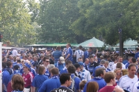 Fans des FC Schalke 04 in Berlin (DFB-Pokal 2011)
