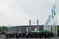DFB-Pokalfinale 2010 - vor dem Olympiastadion