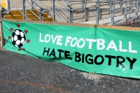 love football, hate bigotry!