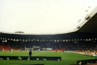 Hampden Park in Glasgow, Nationalstadion Schottlands, 1995