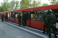 Polizeibegleitung in der S-Bahn