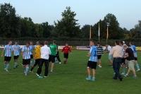 Marco Bertram und Teamkollegen des BSC Rathenow 94 feiern den 2:1-Sieg gegen den BSC Süd 05