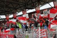 Fans und Ultras von Rot-Weiß Oberhausen in Berlin