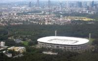 Stadion Eintracht Frankfurt von oben