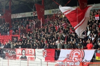 Fans und Ultras von Fortuna Düsseldorf in Berlin