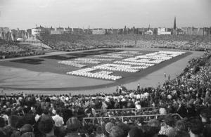 Eröffnung III. Weltfestspiele 1951