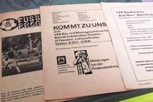 Programmhefte aus der DDR