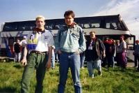 Auswärtsfahrt nach Parma / Italien im Frühjahr 1995