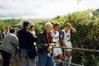 1. FC Kaiserslautern (mit Andi Brehme) zu Gast bei Eintracht Haigar, DFB-Pokal 1993/94