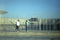 Berliner Olympiastadion Anfang 90er Jahre (Hertha BSC - 1860 München)