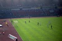 Zweitligaspiel von Fortuna Düsseldorf im Rheinstadion, Anfang 90er Jahre