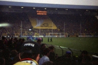 Borussia Dortmund - Eintracht Frankfurt im Westfalenstadion, Anfang 90er Jahre