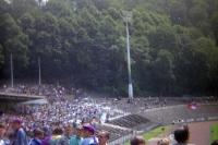 Stadion am Zoo des Wuppertaler SV, Anfang der 90er Jahre