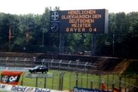 Herzlichen Glückwunsch dem Deutschen Meister Bayer 04