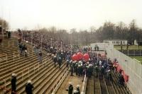 Gästeblock beim 1. FC Union Berlin - 1995