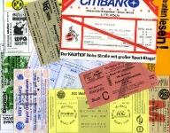 Tickets Anfang der 90er Jahre