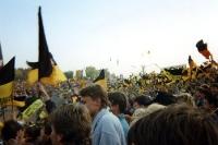 Dresdner Fans in Hamburg 1994/95