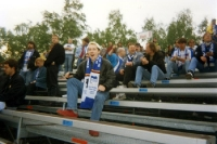 Hertha-Fans beim FSV Zwickau 1994/95