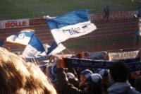 Hertha BSC Fans auswärts bei Fortuna Düsseldorf, 1994