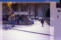 Fanartikelstand des AC Parma (heute FC Parma), 1995 (Pocketfilm)