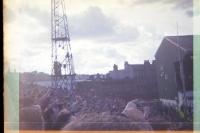 Fans des Celtic FC an der Easter Road in Edinburgh, 1994 (Pocketfilm)