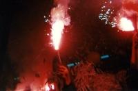 Pyrotechnik: Alltag in Deutschlands Stadien, Mitte der 90er Jahre