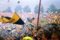 Schalke 04 gegen Borussia Dortmund im Parkstadion, Mitte 90er Jahre