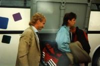 Ioan Lupescu und Rudi Völler von Bayer 04 Mitte der 90er Jahre