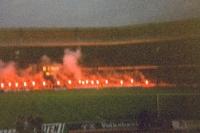 Bengalfackeln im Frankenstadion des 1. FC Nürnbergs, 1991/92