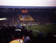 Heja BVB Blockfahne im Westfalenstadion, Anfang 90er