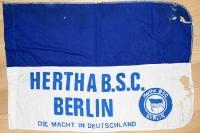 Hertha BSC Fahne aus dem Jahr 1990