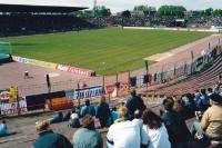 Ostseestadion in Rostock, Anfang der 90er Jahre