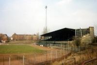 Das Poststadion in Berlin-Moabit, Mitte 90er Jahre