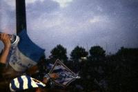 Schalker Nordkurve im Parkstadion, Anfang 90er Jahre