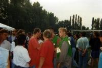 Etwas Stress mit der Polizei, Reinickendorfer Füchse - 1. FC Union, 1995