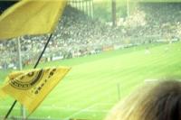 Südtribüne, Block 13, Dortmunder Westfalenstadion, Anfang 90er Jahre