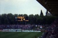 Ulrich-Haberland-Stadion in Leverkusen zu Beginn der 90er Jahre