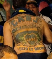 Tattoo der Boca Juniors