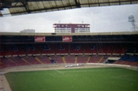 Altes Wembleystadion in London, Frühjahr 1993