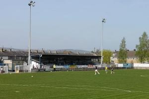 Clitheroe FC und Leek Town FC