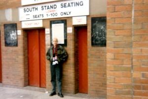 Eingang am Old Trafford