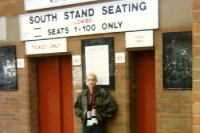 South Stand Seating (Lower) Seats 1-100 only, Old Trafford in Manchester, 1993