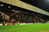 The Bees United Stand im Griffin Park