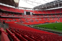 Wembley Stadion in London